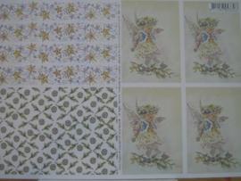 kn/120- A4 knipvel AANBIEDING fairy poppets 20