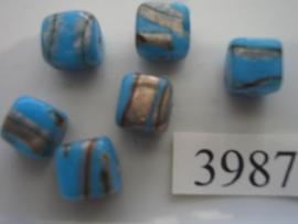 vierkant 10x10mm 3987-2001