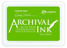 CE306014/1436- Ranger archival ink pad - leaf green