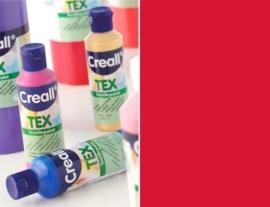 CE301900/0707- Creall Tex textielverf 80ML rood