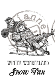 CE180016/0907- Marianne Design clearstamp winter wonderland - CS0907