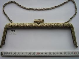 49 - TASBEUGEL 20 cm -. brons -