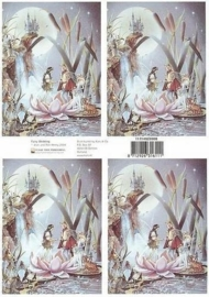 kn/1549- A4 knipvel Fairyland fairy wedding - 117140/2008