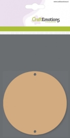 CE812301/0101- 3 stuks MDF basisvormen cirkels van 10cm