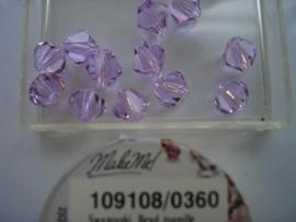 109108/360 - 12 x swarovski 8mm  violet