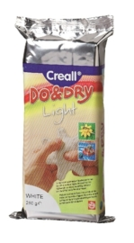 CE810105/6025- boetseerklei Do&Dry light wit 250gram