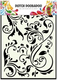 CE185071/5047- Dutch Doobadoo Dutch mask art swirls A5