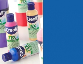 CE301900/0713- Creall Tex textielverf 80ML blauw