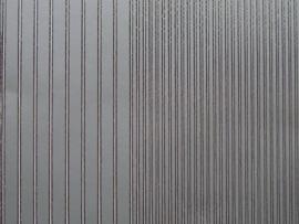 st 399- randje recht 2 breedtes zilver 10x20cm