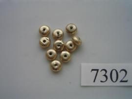10 x discus 6x3mm 7302