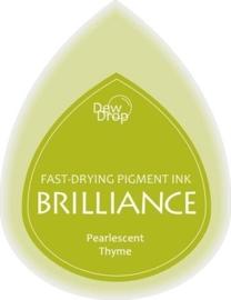 132019/1075- brilliance stempelkussen dew drops pearl thyme 3.5x5cm