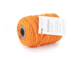 CE501043/0257- 50 meter Vivant katoen koord 2mm oranje