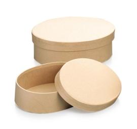 8735 772- 2 stuks ecoshape ovale dozen set 15.5x11.5x5.5cm & 14x10.5x4.5cm
