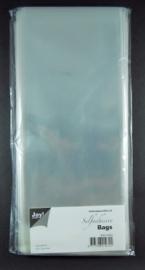 JOY8001/0352- 100 stuks kaartenzakjes zelfklevend 115x225mm