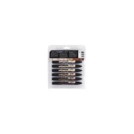 JOY-C0290036- Winsor & Newton brushmarker 12 stuks skin tones