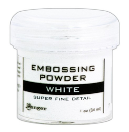 CE306305/6678- Ranger embossing powder 34ml - super fine white