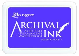 CE306010/2494- Ranger archival ink pad - majestic violet