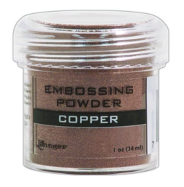 CE306300/7378- Ranger embossing powder 34ml - copper