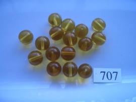 glaskralen 10mm rond 707
