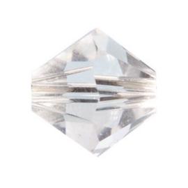 2207 700- 25 stuks swarovski kralen toupille 4mm Kristal helder transparant