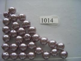 30 x glasparels 10mm licht paars 12006/1014