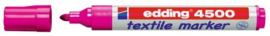 CE394500/0009- edding-4500 textielmarker 2-3mm punt roze
