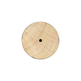 KN8696 404- 100 stuks houten wieltjes van 40x10mm