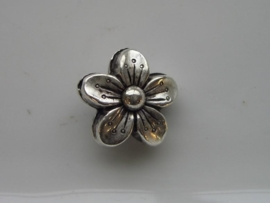 bloem kraal verzilverd 117465/0613
