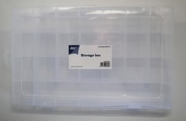 JOY6200/0077- opberg box met 28 vakken 34x21x4.3cm