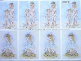 kn/514- A4 knipvel AANBIEDING fairy poppets 85/8