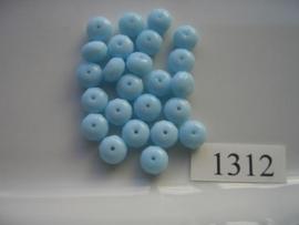 22 stuks discus 8,5x5,5mm 1312