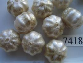 10 x bloem 17.5x12.5mm 7418