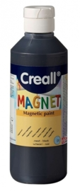 CE302000/8001- Creall Magnet - magneetverf 250ML zwart