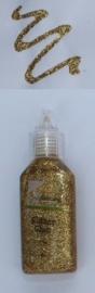 CE118577/0002- flesje kars glitterlijm goud 20ML