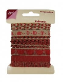 JOY6300/0338- 5x90cm Joy! crafts ribbons forest friend collection 1 - set 3