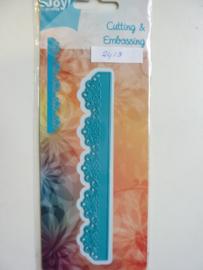 0002413- Joy Crafts stencil rand 14x2cm - OPRUIMING