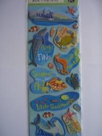 5544- K&Co 3D stickers 30x12cm