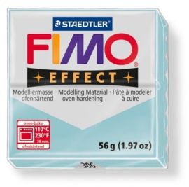 CE610303/0306- fimo effect 56gr gemstone ijskristal blauw -306