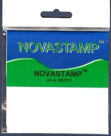 Novastamp basismateriaal (geel) voor transparante stempels 7x7.3cm