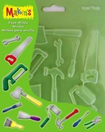 CE117918/9011- Makin`s clay push molds gereedschap 17.5x14cm