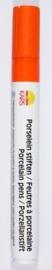 116726/0206- porseleinstift oranje met een punt van 4mm