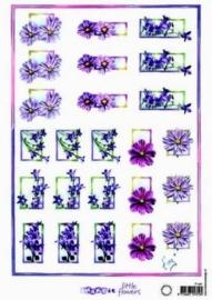 kn/1667- A4 knipvel Marianne D shake it bloemen -117141/8942