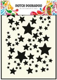 CE185071/5014- Dutch Doobadoo Dutch mask art stencil sterrenhemel  A5