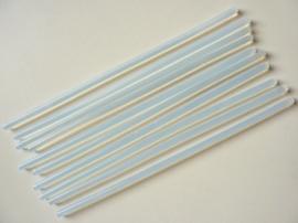10 x extra lange lijmpistool patronen van 7.2mm dik en 25.5cm lang - SUPERLAGE PRIJS!