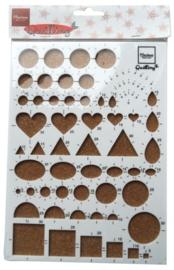 CH115641/2401- Marianne Design Quilling board