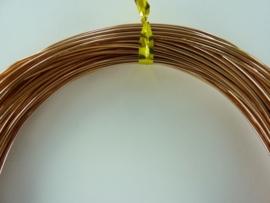 CH.10x20 - 10 meter aluminiumdraad (Wire&Wire draad) van 1mm koper