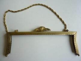 53- tasbeugel met ketting 21.5cm bronskleur