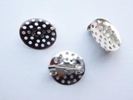 CH.346- 3 stuks mini zeefbroches van 16mm