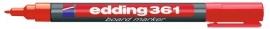 CE390361/0002- Edding-361 boardmarker met punt van 1mm rood