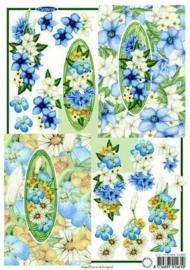 kn/1630-  A4 knipvel Marianne D elegance harebell -117141/5255
